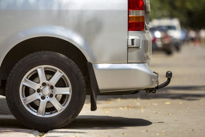 Anhængertræk på lejebiler i udlandet findes som regel kun på større biler